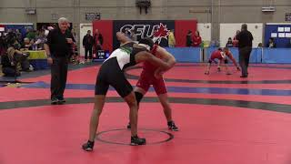 2017 SFU International: 70 kg Magnus McCrackin vs. Karan Dhillon