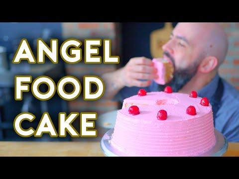 Binging with Babish Angel Food Cake from Groundhog Day