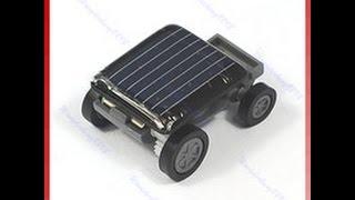 Mini Solar Power Toy Car Racer