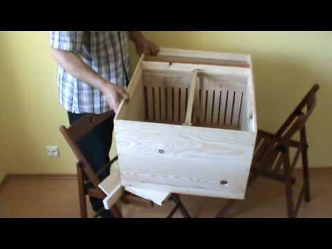 2010 Noutati in apicultura Nou tip de stup anti varroa destructor inventat de Ioan Ursu
