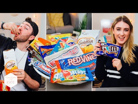 British People Trying American Candy Part 2 In The Kitchen With Kate