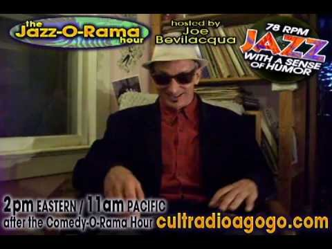 The Jazz-O-Rama Hour Coming June 23, 2 pm (ET) / 11 am (PT) on CRAGG (Cult Radio-A-Go-Go!)
