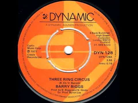Barry Biggs - Three Ring Circus Video Clip