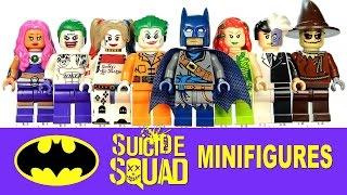 Pirate Batman Suicide Squad Joker & Harley Quinn Unofficial LEGO KnockOff Minifigure Set