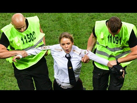 Xxx Mp4 15 Day Jail Sentence For Pussy Riot Activists After World Cup Pitch Invasion 3gp Sex