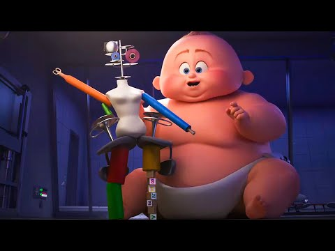 Xxx Mp4 INCREDIBLES 2 Baby Jack Jack All Superpowers Short Movie 2018 Clip 3gp Sex