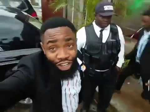 Comedy: See how woli Arole was Bounced at a Party, gate crashers beware!  - Download