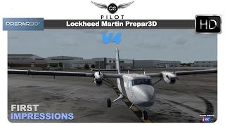 Lockheed Martin Prepar3D v4 | First Impressions