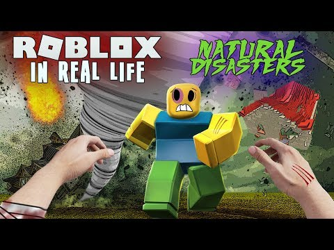 REALISTIC ROBLOX - SURVIVE THE ROBLOX DISASTER -  NATURAL DISASTERS MOD - SURVIVING A TSUNAMI