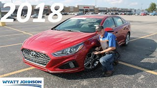 IN DEPTH REVIEW: Refreshed 2018 Hyundai Sonata Sport!!