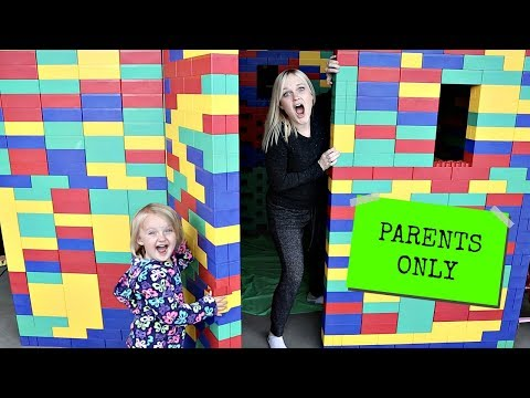Parents Only GIANT LEGO FORT Escape Room