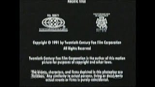 Sleeping With The Enemy (1991) End Credits (AMC 2008)