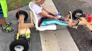 DIY Drill Powered Go-Kart