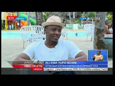 Mwanamziki wa Bongo maharufu na kibao cha 'chekecha', Ali Kiba akita kambi kaunti ya Mombasa