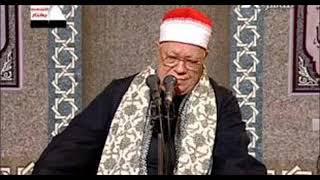 فضيلة الشيخ محمود إسماعيل  عليه رحمة الله   الشريف وتلاوة من أول سورة الشورى يوم 15 إبريل 2007م