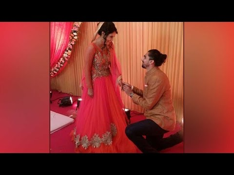 Ishant Sharma proposes Pratima in the most romantic way, Click to know | Oneindia News