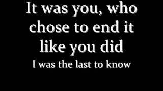 Kelly Clarkson Never Again Lyrics