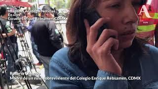 #FridaSofía Nos han mantenido con un show; yo no vi nada: madre en el #Rebsamen
