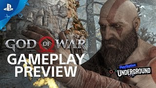 God of War: 15 Minutes of Gameplay - PS4 Gameplay Walkthrough | PS Underground