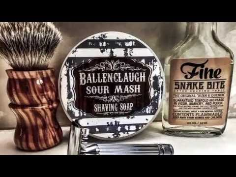 The Fattip Grande and Ballenclaugh Sour Mesh One Pass Shave