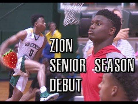Zion Williamson vs Jalen Lecque Battle Between Two Future PROS Full Highlights