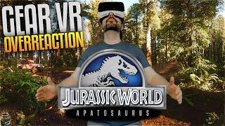 Jurassic World: Apatosaurus - Samsung Gear Vr Overreaction