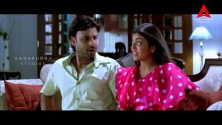 Kajal Aggarwal Tempting Sumanth  || Pourudu Movie || Sumanth, Kajal Agarwal