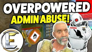 OVERPOWERED ADMIN ABUSE - Gmod DarkRP (Mysterious Admin Having Fun With Players)