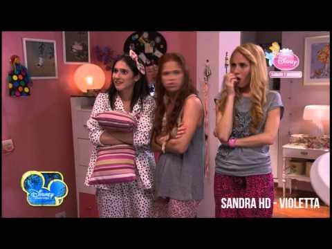Violetta 2 Hacen una fiesta en casa de Violetta Capítulo 10