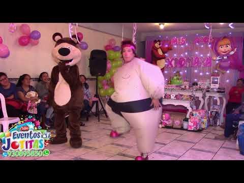 Show De Payaso Infantil Oso y Masha Eventos Jotitas