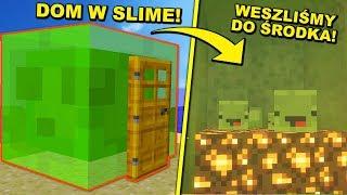 ŻYCIE W SLIME - Minecraft UKRYTY ŚWIAT! | Dealereq & Koshi