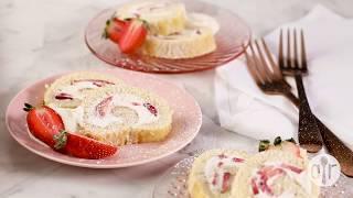 How to Make Strawberry Cream Roll | Dessert Recipes | Allrecipes.com