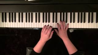 Chipmunk song piano tutorial - Alfred's piano library Christmas Top Hits Level 2
