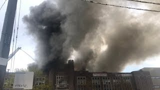 Toronto high school on fire for 2nd time in 2 days