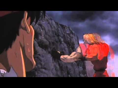 Street Fighter 2 The animated movie ryu vs ken