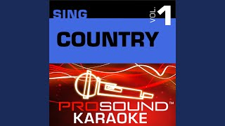Stranger In My House (Karaoke Instrumental Track) (In the Style of Ronnie Milsap)