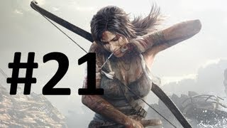Tomb Raider HD 1080p Gameplay Walkthrough Part 21 - Guard her with your LIFE!