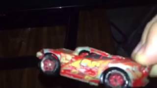 Cars 3 Lightning McQueen Crash Die-cast (FULL)