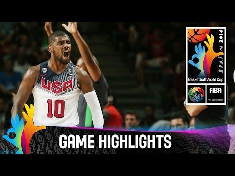 watch USA v Serbia - Game Highlights - Final - 2014 FIBA Basketball World Cup