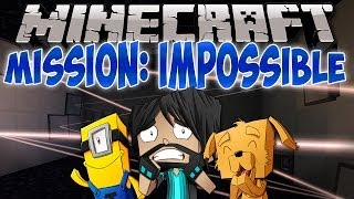 MISSION IMPOSSIBLE!! | Think's Lab Minecraft Mods [Minecraft Roleplay]