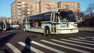[MTA]: Av U Bound 1999/2011 Nova RTS [#5115] & XD40 Xcelsior [#4899] B36 Buses @ Av Z & Ocean Pkwy