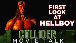 First Look At David Harbour As Hellboy - Movie Talk