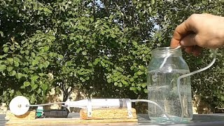 How to Make a Powerful Air compressor using Syringe at Home