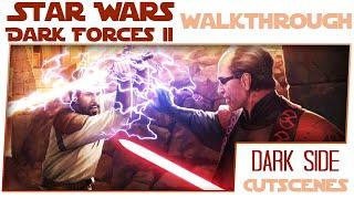 Let's Play Star Wars Dark Forces 2 Extras - Dark Side Cutscenes