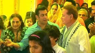 Ganesh Pooja at Salman Khan