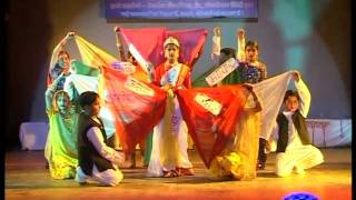 Children's Dance On Medley Of Patriotic Songs - Kala Ankur Ajmer - Program