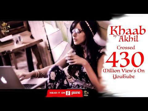 KHAAB || AKHIL || NEW PUNJABI SONG 2016 || FEAT PARMISH VERMA || CROWN RECORDS ||
