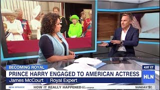 Prince Harry & Meghan Markle's Royal engagement