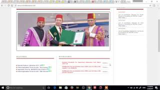Aligarh Muslim University All courses online Forms Hurry up  amu form