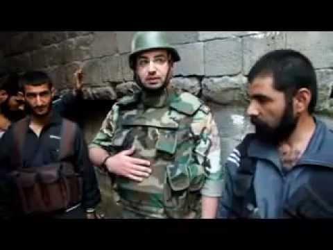 الجيش الحر اجمل انشقاق عن جيش خاين سوريا شوهد حتى الأن